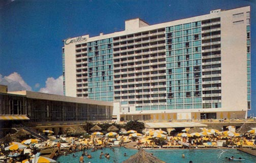 Carillon Hotel 1986 Postcard Click On It To View Back Where The Nails Stayed When Recording Dangerous Dreams At Criteria Studios N Miami Beach